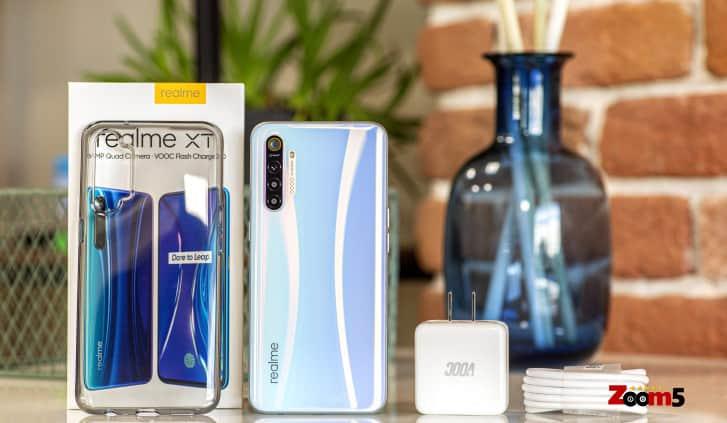 محتويات هاتف ريلمي اكس تي
