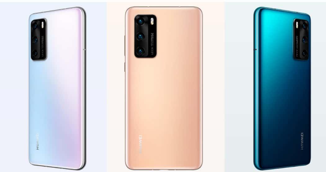 سعر ومواصفات موبايل هواوي بي 40 Huawei P40