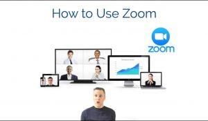 ماهو برنامج zoom cloud meetings